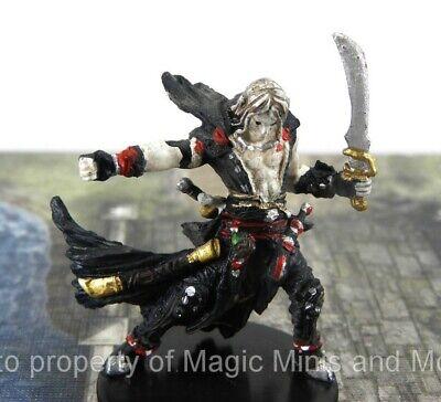 Skull /& Shackles #21 Pathfinder Battles D/&D Mini half-orc Tsadok Goldtooth