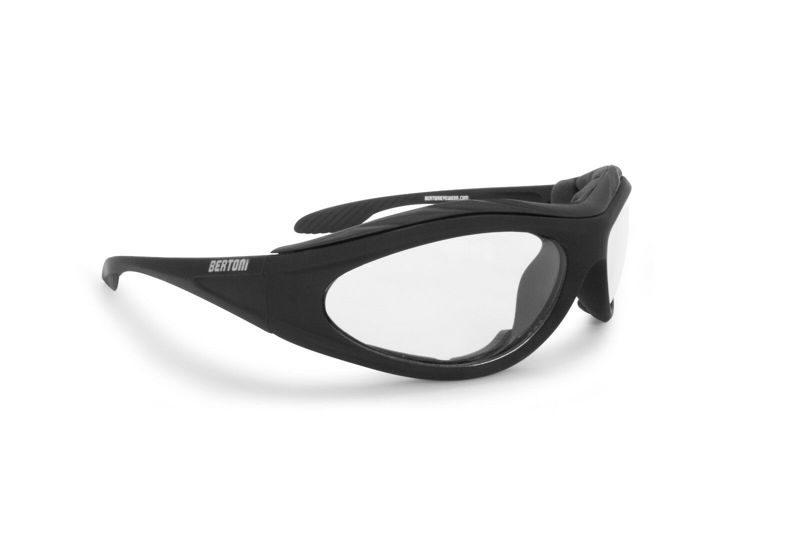 Bertoni Photochromic Sunglasses with Windproof Insert for Extreme Sports - F125