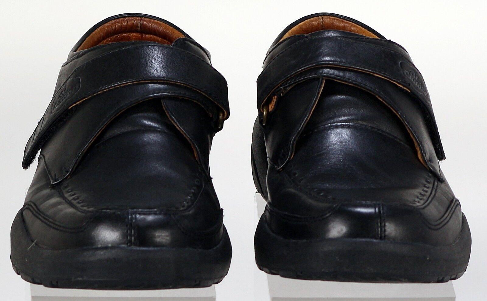 b2571e8d63c2 ... Dr Comfort Men s Shoes Shoes Shoes Size 12 Frank 6210 Black comfort moc  toe Diabetic leather ...