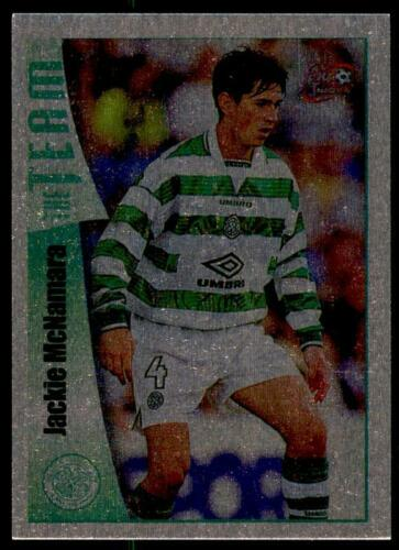 Futera Celtique Fans /'Selection 1997-1998 Jackie McNamara #16 Chrome
