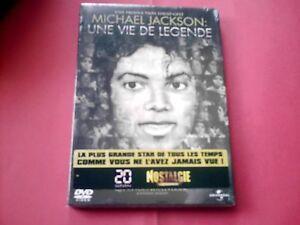 DVD-NEUF-MICHAEL-JACKSON-UNE-VIE-DE-LEGENDE