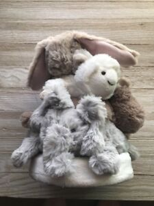 Pottery Barn Kids Baby Small Animal Stacker Toy Plush