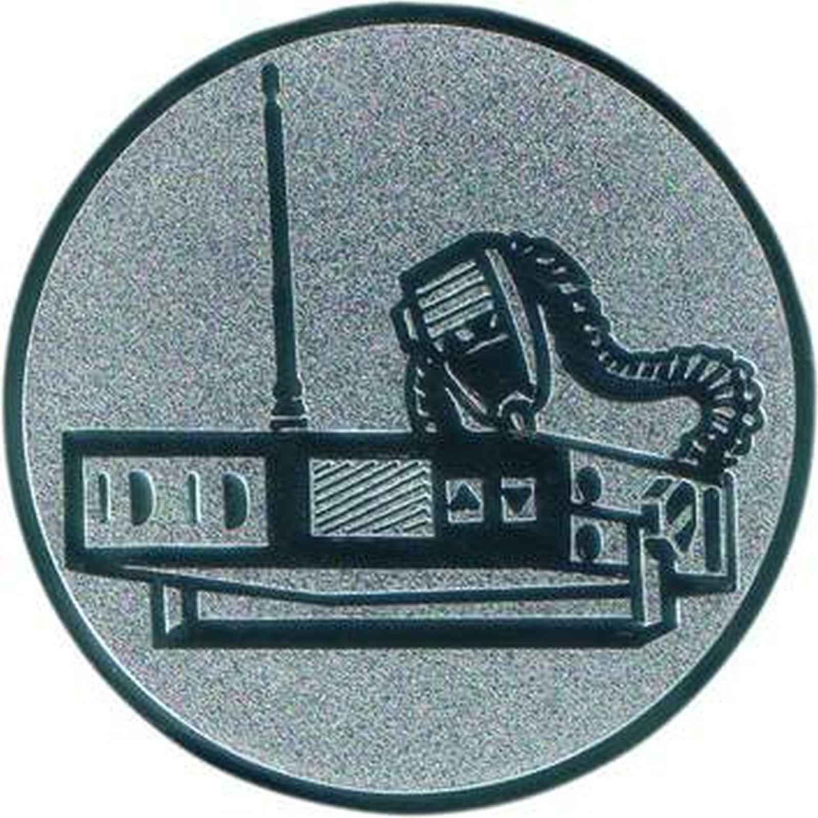 100 große Embleme CB Funk Funk Funk Gold  D 50mm (für Medaillen Pokale Pokal Medaille) af61f0