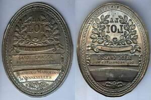 Plaque De Métier - Denneulin Garde Chasse Du Marquis De Vennevelles Dckkuvme-08000217-323309101