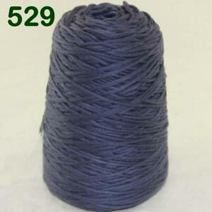 Sale-New-1Cone-400g-Soft-Worsted-Cotton-Chunky-Super-Bulky-Hand-Knitting-Yarn-29