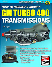 How to Rebuild & Modify GM Turbo 400 Transmissions Book ~ step-by-step ~ NEW!