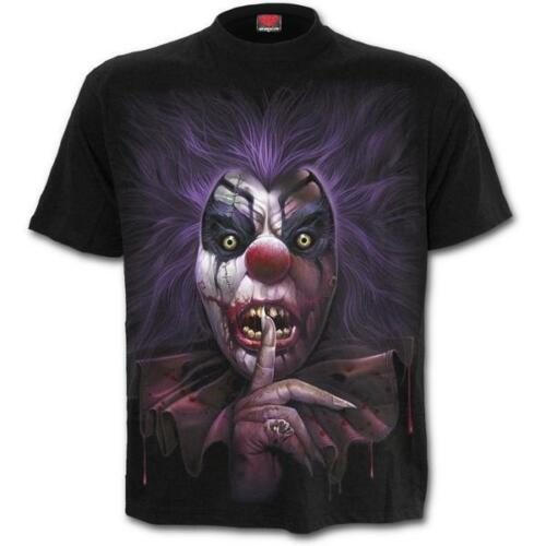 Spiral-Madcap-Men /'s Short Manche T-Shirt Black