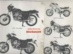 genuine honda cx500 1978 1984 factory work shop manual. Black Bedroom Furniture Sets. Home Design Ideas