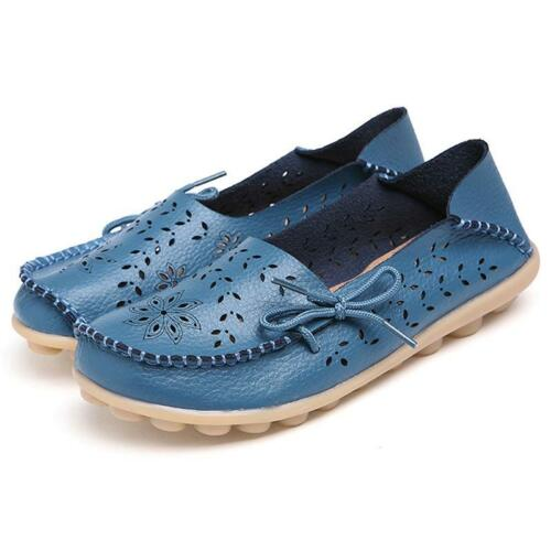 Women Driving Shoes Fashion Casual Summer Shoes Leather Walking Moccasin BS