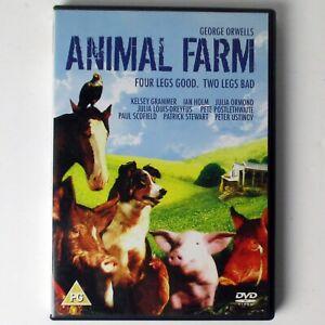 Animal-Farm-DVD-2006-Boulevard-Kelsey-Grammer-Patrick-Stewart-Peter-Ustinov