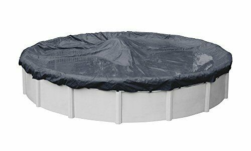 UV Resistant Economy Winter Cover for Above Ground Pool - 24 Ft Round Pool