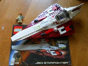 Lego-Star-Wars-7143-Jedi-Starfighter-Loose-Toy