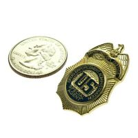 Dea Drug Enforcement Special Federal Agent 1 Pin Tie Tac Mini Badge Police