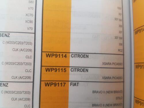 WIX WP9114 Pollen Filter Fits Citroen xsara Picasso