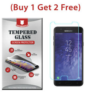 Clear-HD-Tempered-Glass-Film-Screen-Protector-For-Samsung-Galaxy-J7-Star