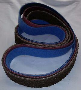 "2/""x72/"" Sanding Belts Micron Variety Pack You Pick 10pcs"