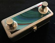 Saturnworks Dual Guitar Amp + Tap Tempo Momentary Footswitch, Replaces Boss FS-6