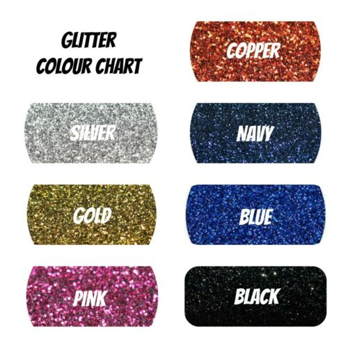 100/% Cotton Custom Personalised Glitter Wedding Shoulder Tote Bags Gift Hen Do