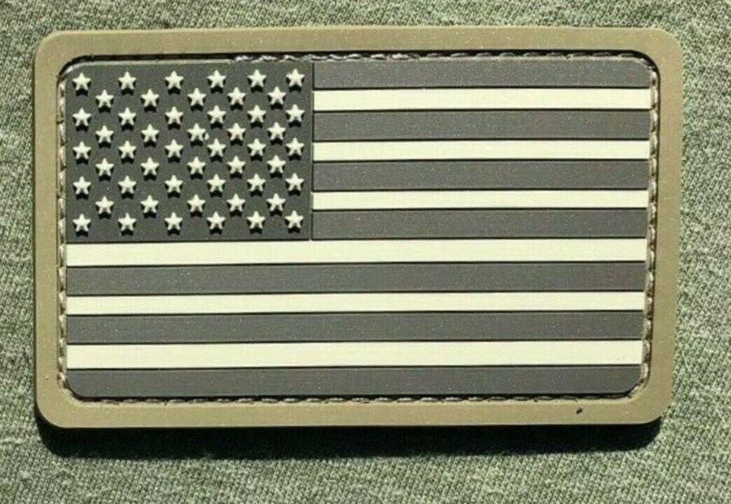 Four Pack Trump Skull American Flag Tactical Morale Patch
