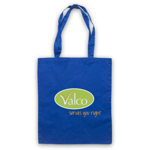 TROLLIED VALCO SERVES YOU RIGHT COMEDY SUPERMARKET TV TOTE BAG LIFE SHOPPER