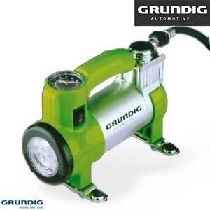 Compressore-per-Auto-Grundig-Automotive-12V-Potenza-100-Psi-con-Luce-Lavoro-LED
