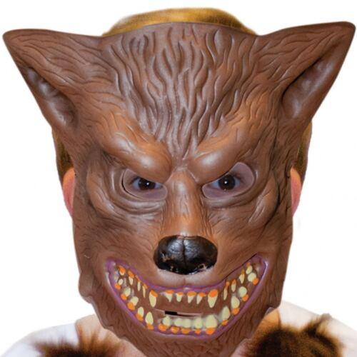 Jungen Halloween Heuler Werwolf Kostüm Kinder Blood Greifer Kunstpelz