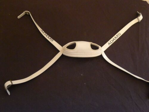 """ADAMS SOFT CUP HIGH HOOK UP FOOTBALL CHIN STRAP /"""" NEW OLD STOCK /"""" VINTAGE"""