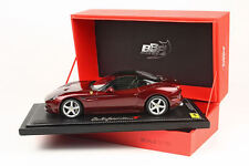 BBR  2014 Ferrari California T Closed Rosso California LE of 150 1/18 P1880 New!