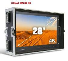 LILLIPUT BM280-4K Broadcast Ultra-HD Monitor with SDI ,HDMI ,DVI,VGA,TALLY +HOOD