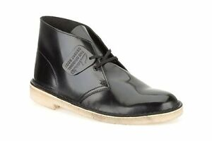 X Uk Black Boot Originals para Clarks Hi 5 5 mujer Desert Leather D Shine FwqZ8Xtv