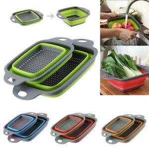 Folding-Colander-Draining-Basket-Fruit-Vegetable-Washing-Kitchen-Strainer-Drain