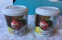 Tomy Micro Petssanta Dog Jingle Limed Sealed Voice Activated 2003 Lot Of 2
