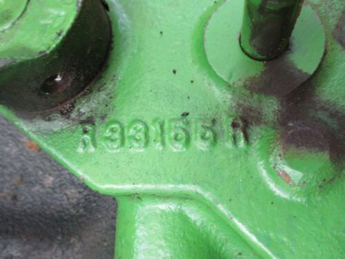 1966 John Deere 4020 diesel  tractor TRANSMISSON CLUTCH PTO VALVE R33155 AR88040