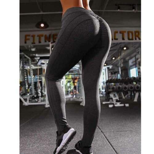 Womens Yoga Pants Push Up Scrunch Leggings Fitness Gym Running Jogging Stretch