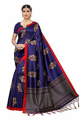 Indian Women/'s Designer Art Silk Saree with Blouse Piece Free Shipping