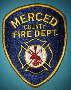 Rare-Vintage-1960-039-s-Merced-County-Fire-Department-Hipster-Jacket-Uniform-Patch