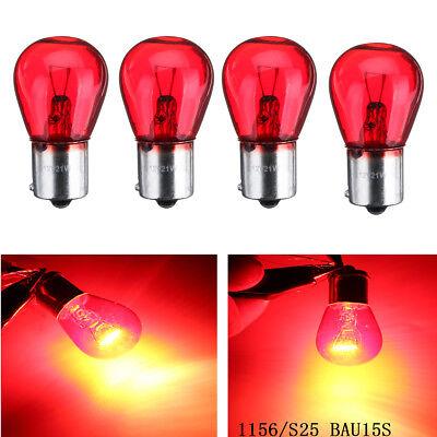 2x 1156 Red Bulb Light 12V 21W PY21W BAU15S Auto Car Brake Stop Tail Lamp