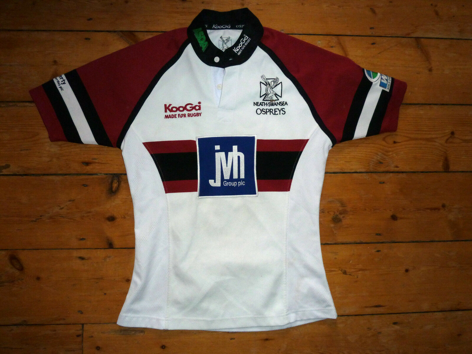 S S S Ospreys Maglia da Rugby Neath-Swansea Rugby Galles Rugby Maglia 45fb30