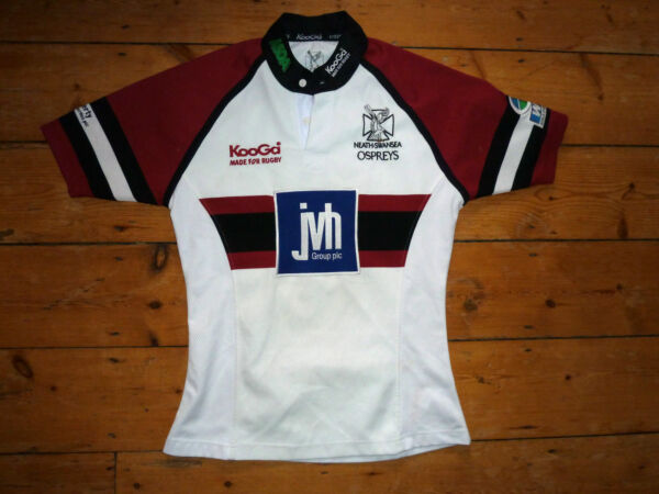 Aggressivo Piccolo Ospreys Rugby Camicia Neath-swansea Rugby Galles Rugby Union Top