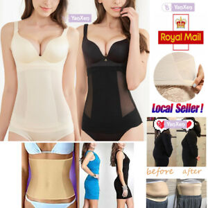 476f67c73cb Image is loading Body-Shaper-Invisible-Tummy-Trimmer-Waist-Clincher-Girdle-