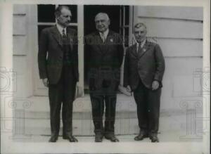 1935 Press Photo NE Nerla, Pres of the Council of Int'l Union of Astronomers