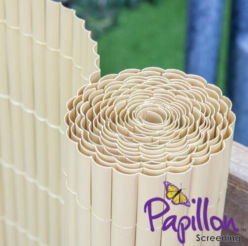 Artificial Split Bamboo Screening 2m High x 4m Long Roll Garden Fencing Screen