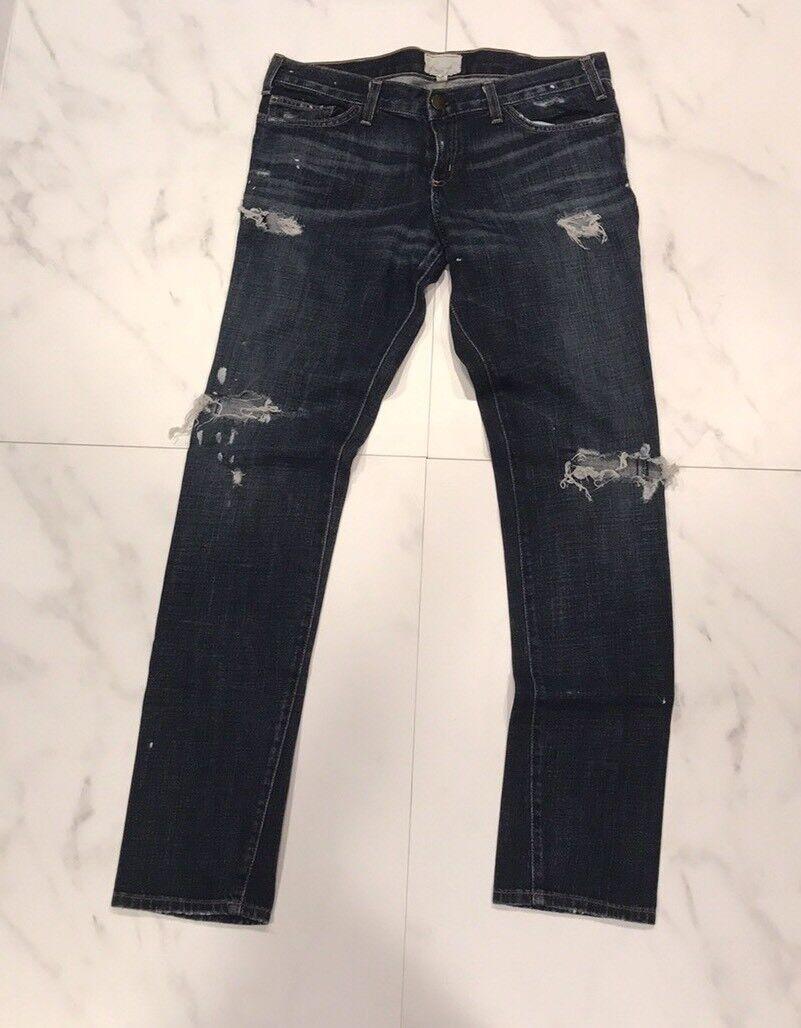 Current Elliot or Current Elliot  The Skinny  Distressed Skinny Jeans - Size 30