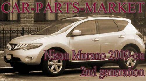 Droit Côté Conducteur Plat Aile Miroir De Verre Pour Nissan Murano 2009-2014 Chauffé