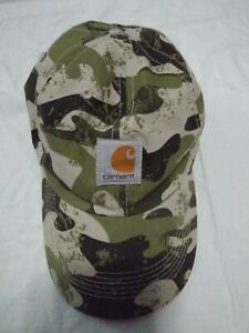 Carhartt-Hat-Adjustable-Children-039-s-Youth-Camo-Hunting