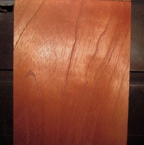 "Spanish Cedar Lumber  9/"" X 48/"" X 1//4/""  planed 2 sides"