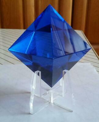 EVANGELION Crystal Object 6th Apostle Crystal glass Taisho Glass Museum in Otaru