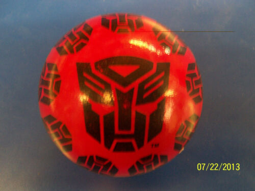 Transformers Dark of the Moon Movie Kids Birthday Party Favor Squishy Play Ball