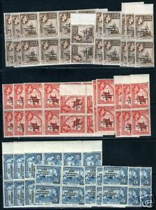 GHANA-SC-25-7-SG-173-4-176-MINT-NEVER-HINGED-44-SETS