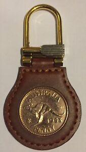 2x Kangaroo Penny Keyring - Ideal gift - you select date - Individually Boxed